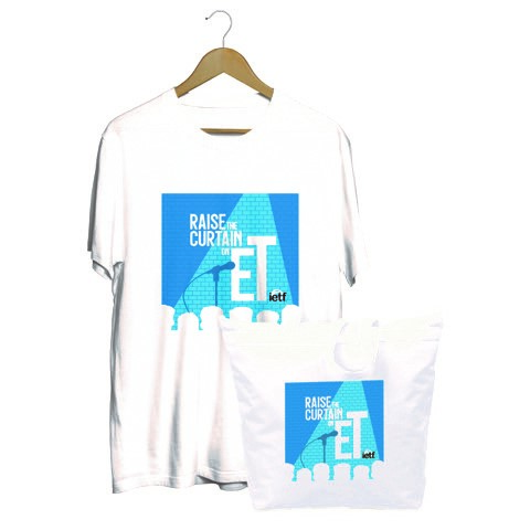 NETA Month t-shirt and tote